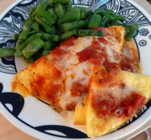 Delicious Diet to Go Omelet Pomodoro